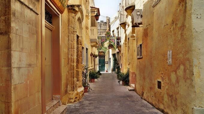 Malta Valetta Gassen
