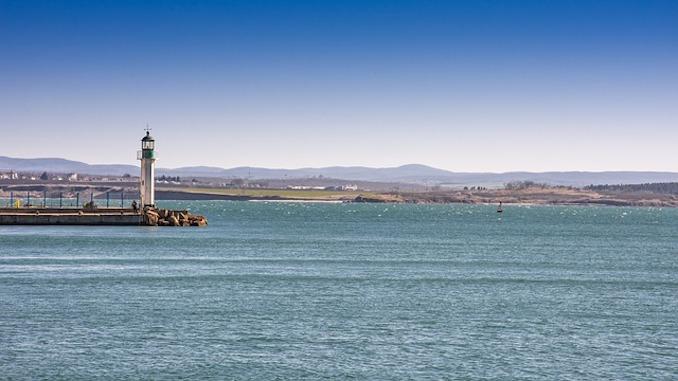 Bulgarien Hafen Sonnenstrand