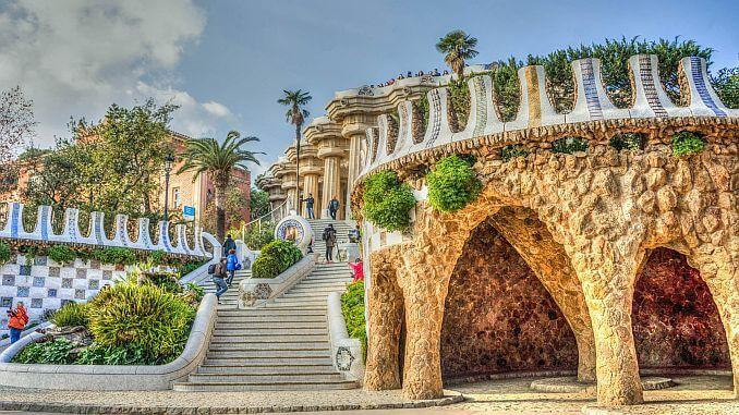 Barcelona Erfahrung Park Güell