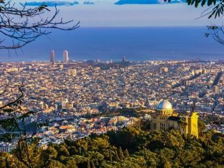 Barcelona Urlaub Ausblick